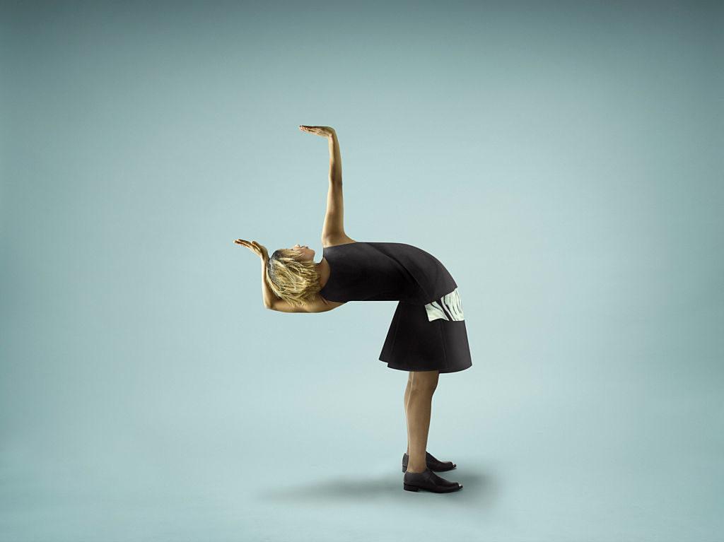 Girls in studie - anti gravity