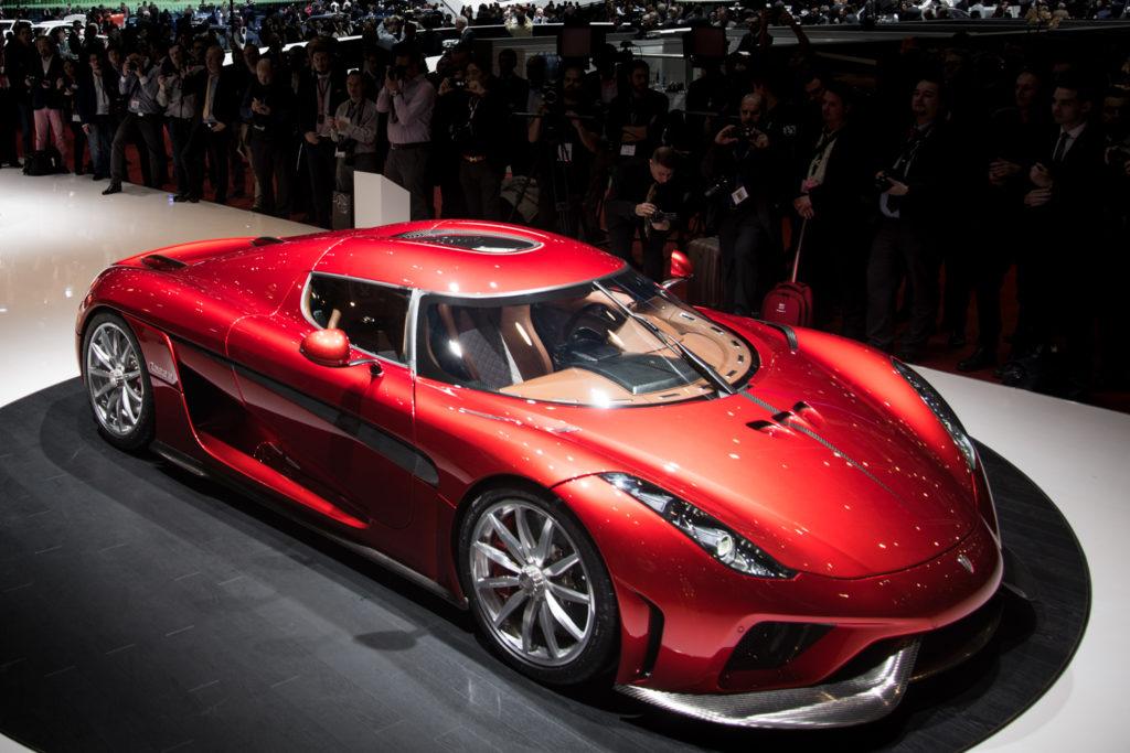 ה-Koenigsegg Regera בתערוכת רכב. קרדיט תמונה: אתר החברה