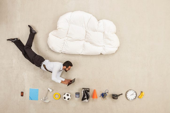 cloud services getty images