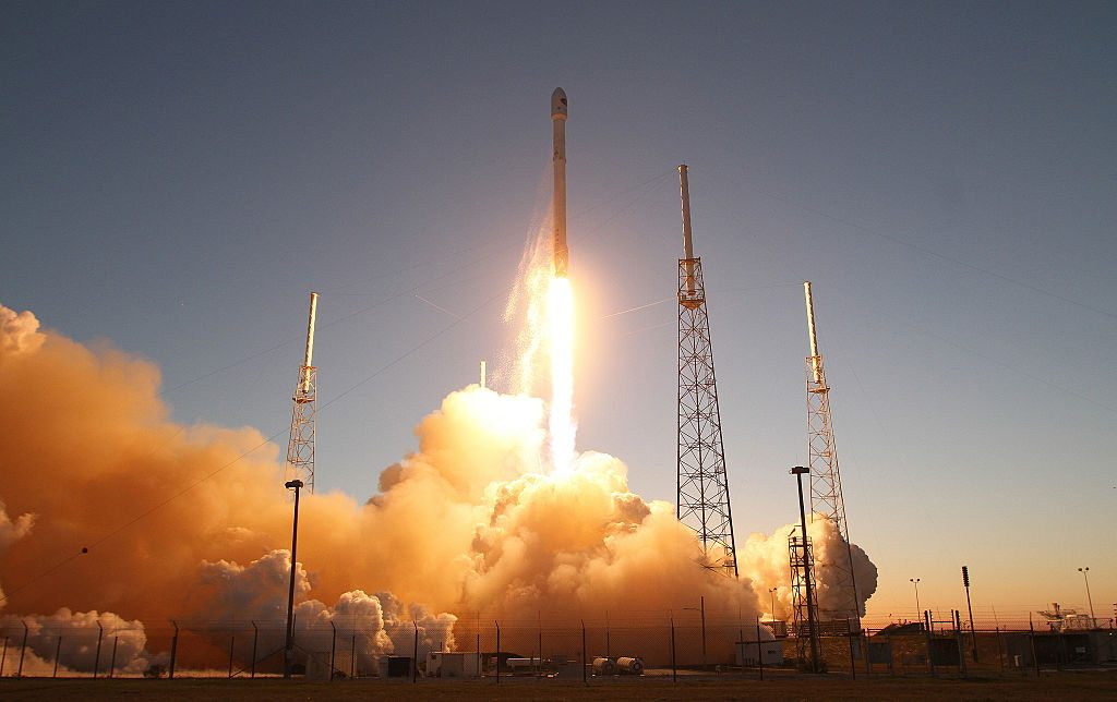 SpaceX Falcon9 blasts off getty images