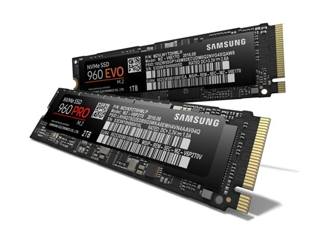 כונני ה-SSD החדשים של החברה. מקור: Samsung