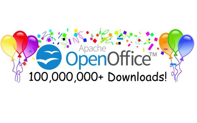 זמנים יפים יותר. מקור: OpenOffice