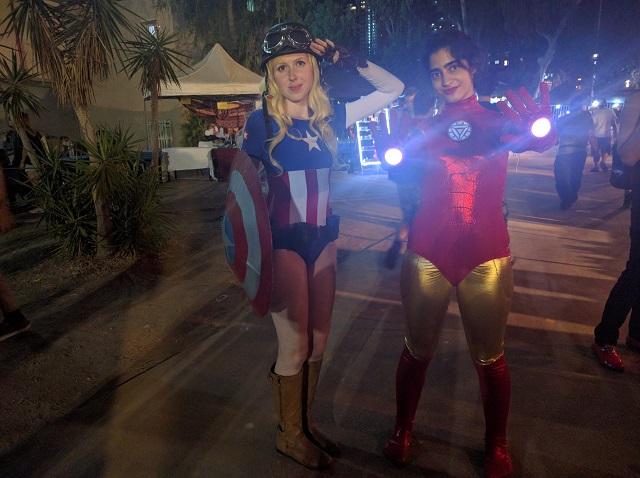 בשנייה הזאת איירונמנית וקפטנית אמריקה אינן מתקוטטות והורסות ערים