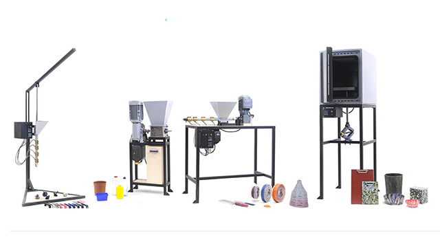 את המכונות תוכלו להכין לבד, בעזרת סרטוני ההדרכה. מקור: Precious Plastic