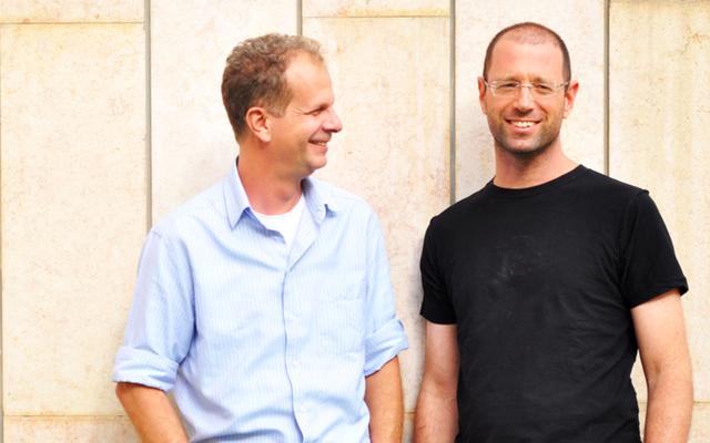 צמד המייסדים, מימין לשמאל: דורון אלגרסי ויאיר גרינדלינגר
