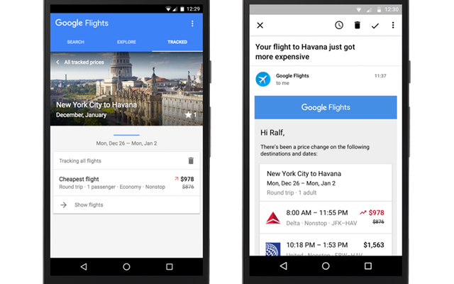 מקור: Google Flights