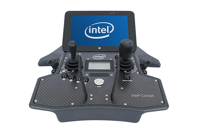 עמיד במים ובאבק: בקר השליטה של הרחפן החדש. מקור: Intel