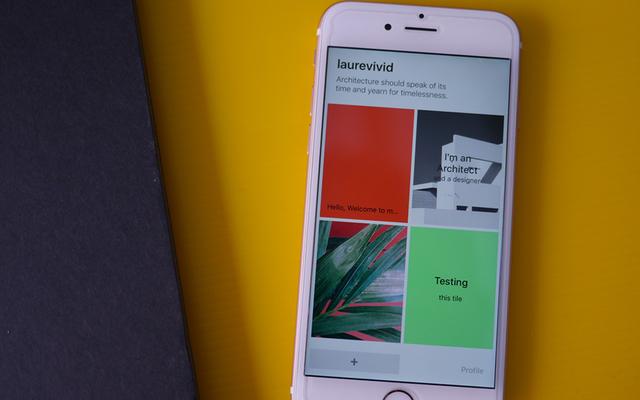 לבנות אתר רספונסיבי מהאייפון. מקור: Tyota
