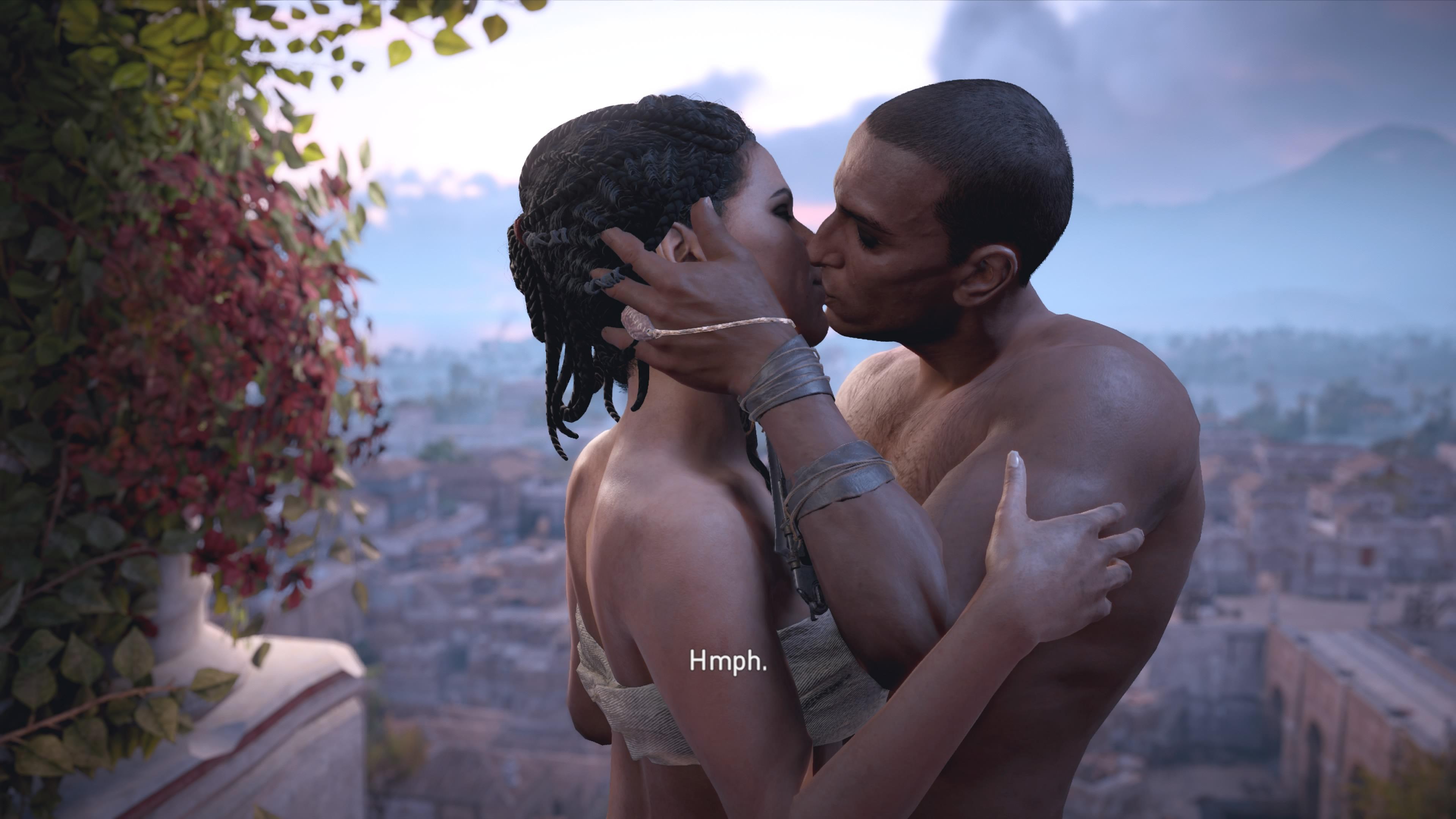 Origins Kiss Scene