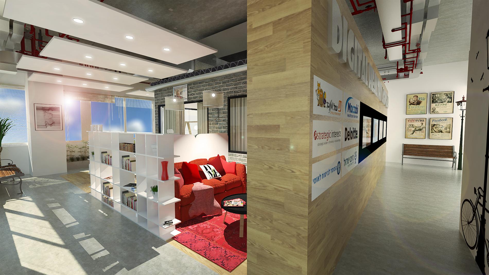 הדמיית המעבדה החדשה בבאר-שבע