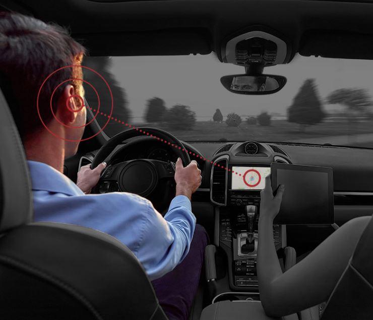 Noveto in the car