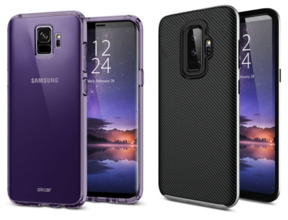 Olixar's Galaxy S9 Cases
