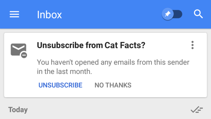 Google Inbox, Android Police