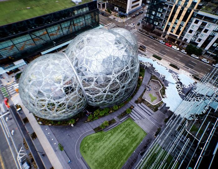 מקור: amazon spheres