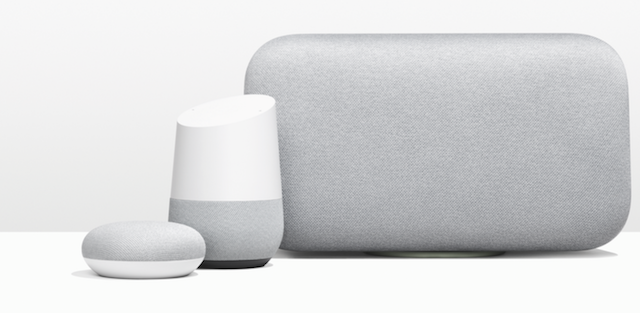 Google Home Mini and Max