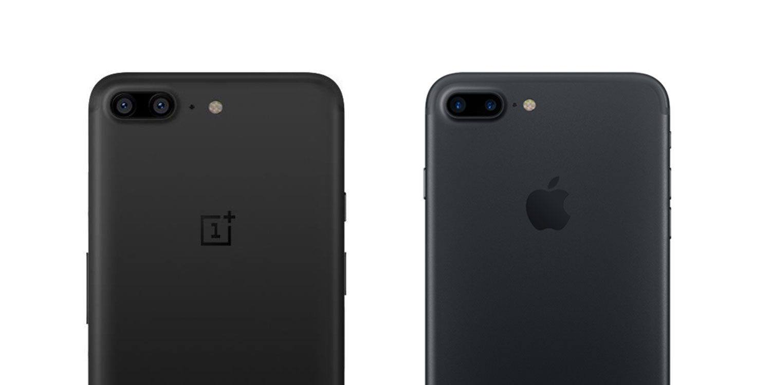oneplus 5 vs iphone