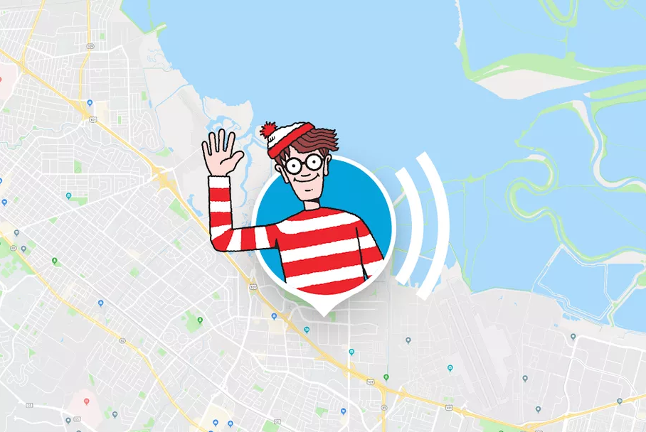 Where's Waldo google maps