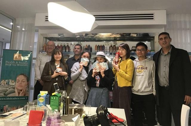 ביקור משלחת בלוגריות מסין בישראל לא לשימוש גיקטיים