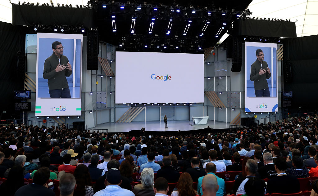 Google Hosts Its Annual I/O Developers Conference