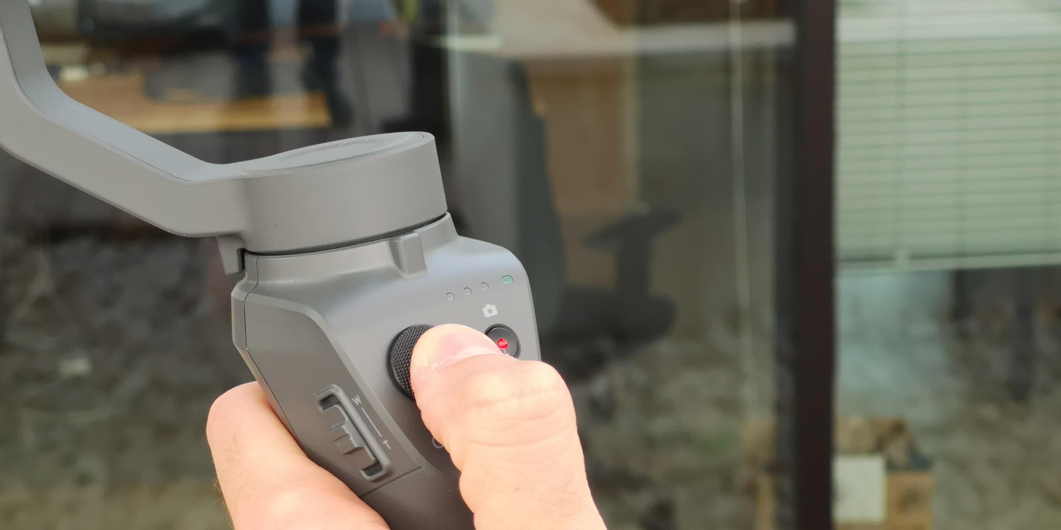 OSMO Mobile 2 joystick