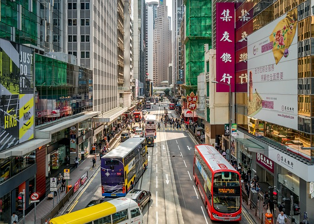 Hong Kong - city site