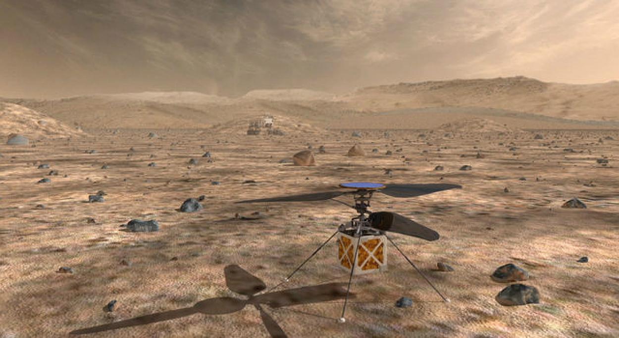"""מדע פופולארי: נאסא תשגר למאדים """"רחפן"""" מיוחד שנועד לחקור אותו"""