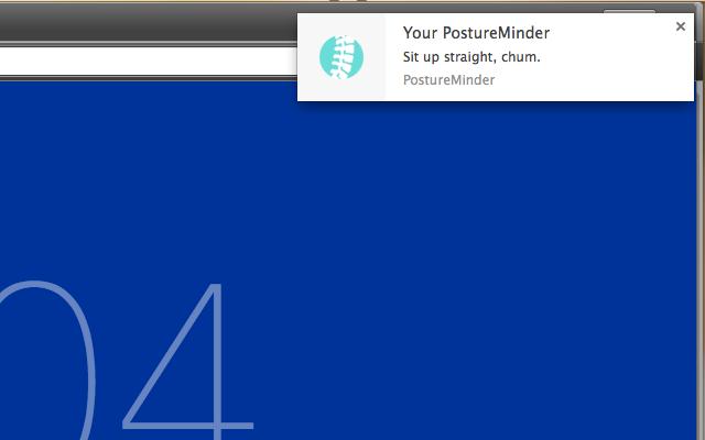 PostureMinder