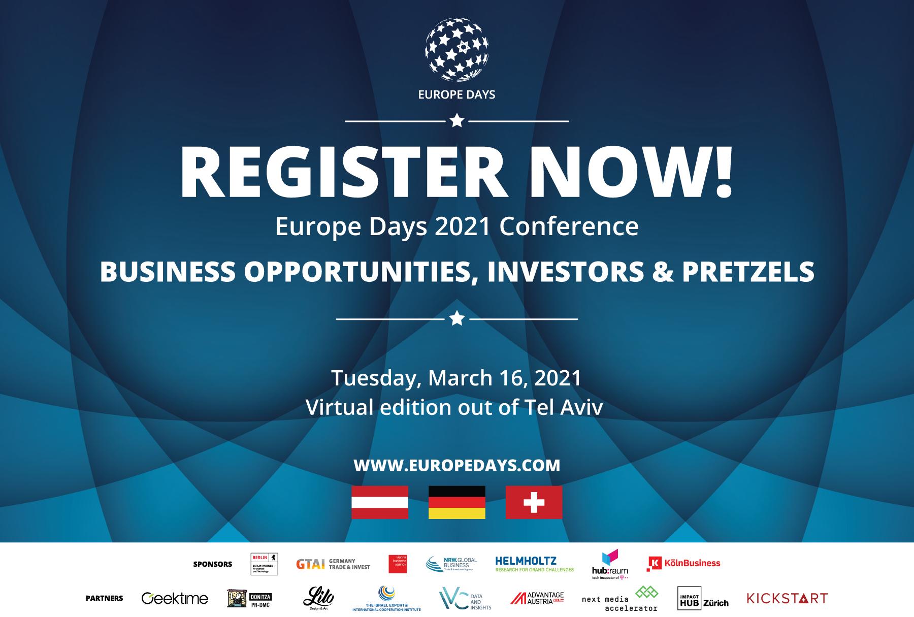 כנס Europe Days 2021